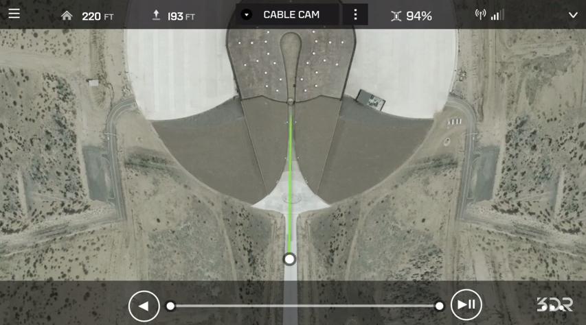 Solo-cable cam