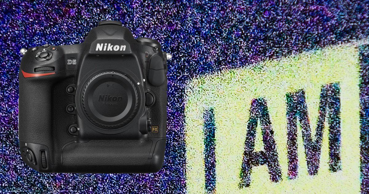 Nikon D5 ISO