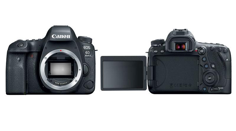 بررسی جامع دوربین Canon 6D Mark II