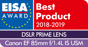 Canon_EF_85mm_f1.4L_IS_USM EISA 2018-2019
