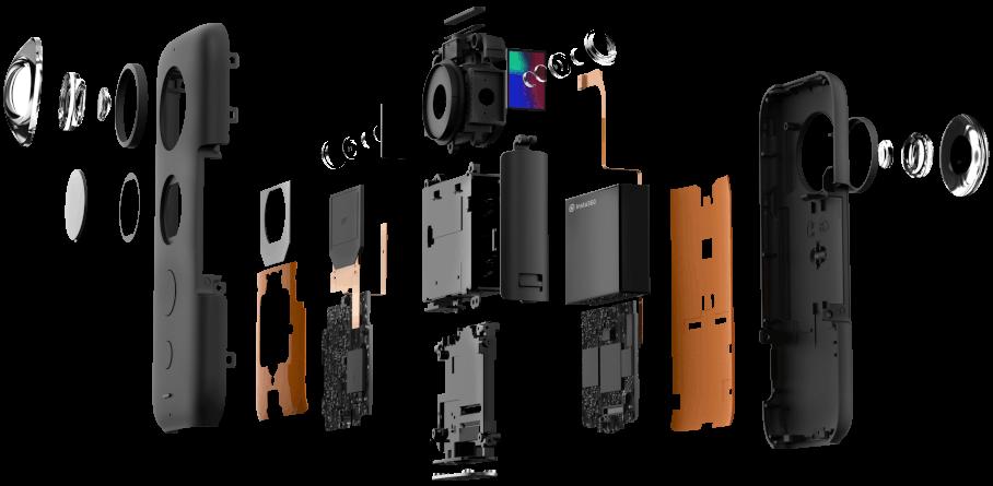 تصویربرداری 360 درجه با دوربین Insta360 ONE X