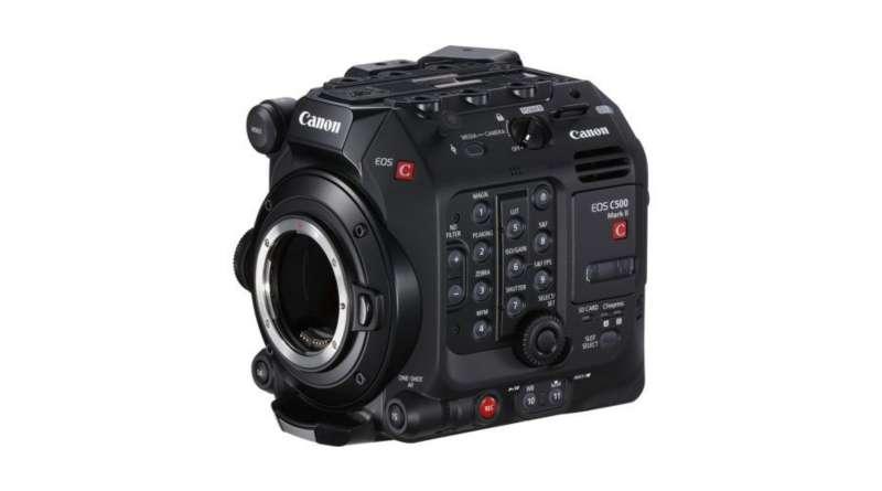 دوربین کانن EOS C500 II