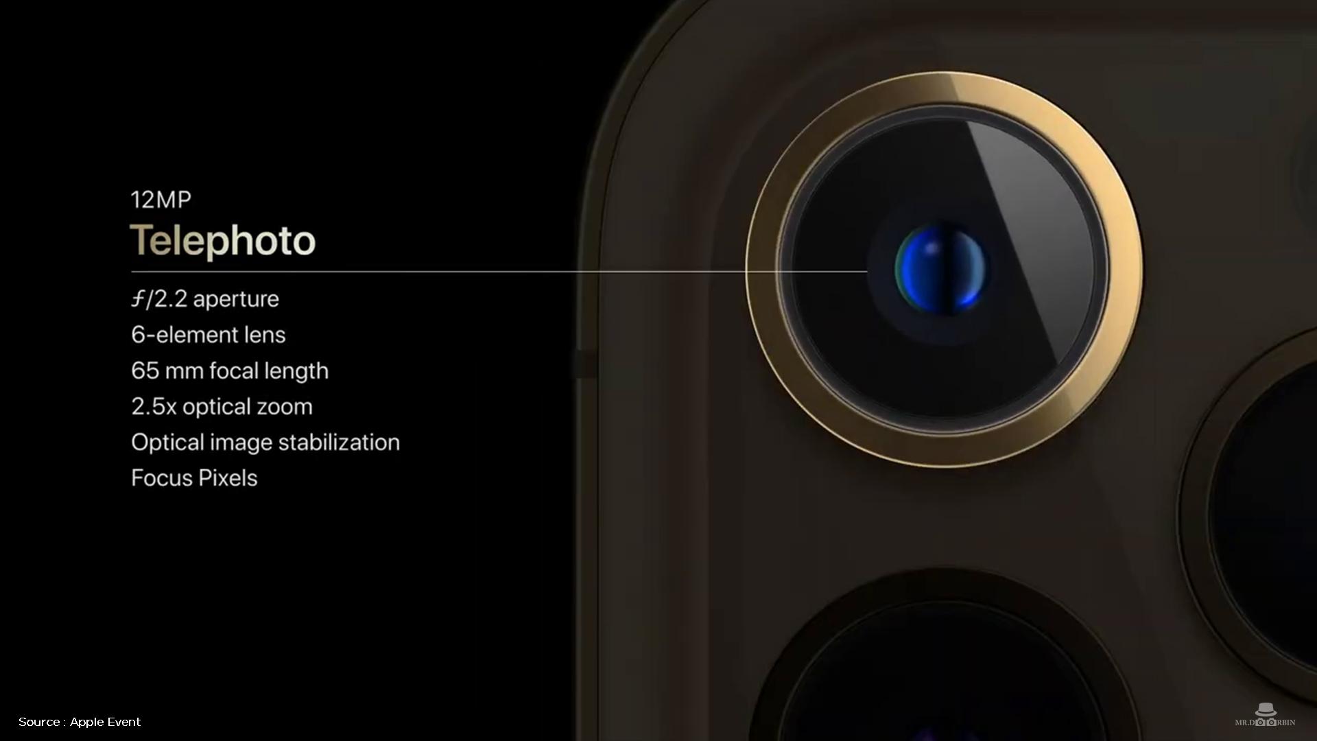 دوربین آیفون 12