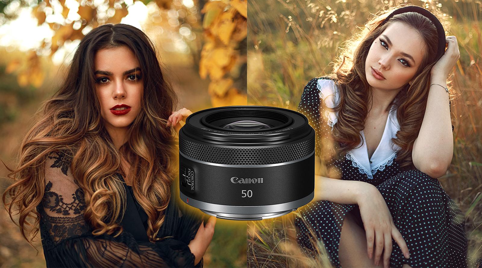 لنز کانن RF 50mm f1.8 STM