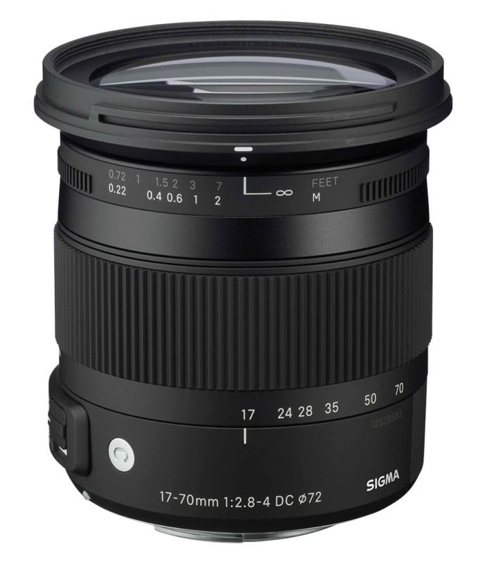 لنز Sigma 17-70mm f/2.8-4 DC Macro OS HSM