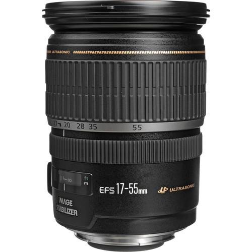لنز Canon EF-S 17-55mm f/2.8 IS USM
