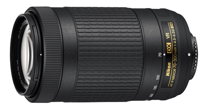 لنز Nikkor AF-P DX 70-300mm f/4.5-6.3G ED VR