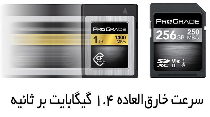 کارت حافظه ProGrade Digital