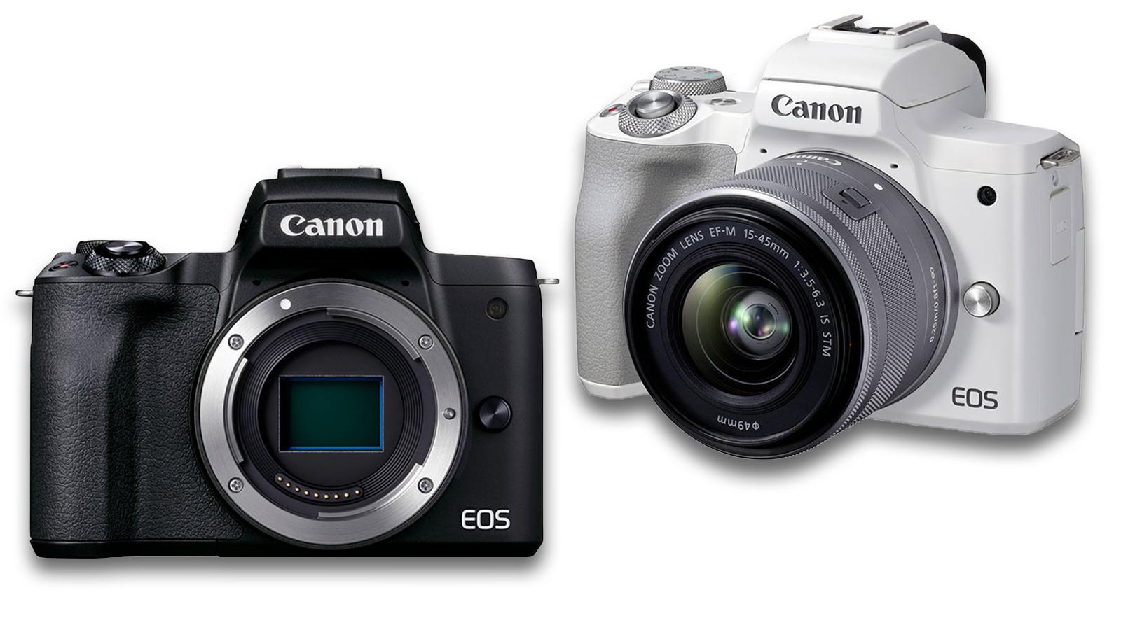کانن EOS M50 II : بدونآینهای دیگر با ماونت M