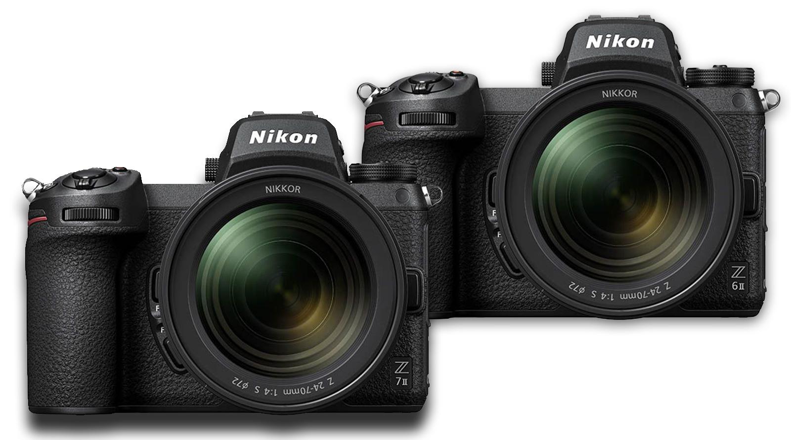 دوربینهای نیکون Z6 II و Z7 II معرفی شدند